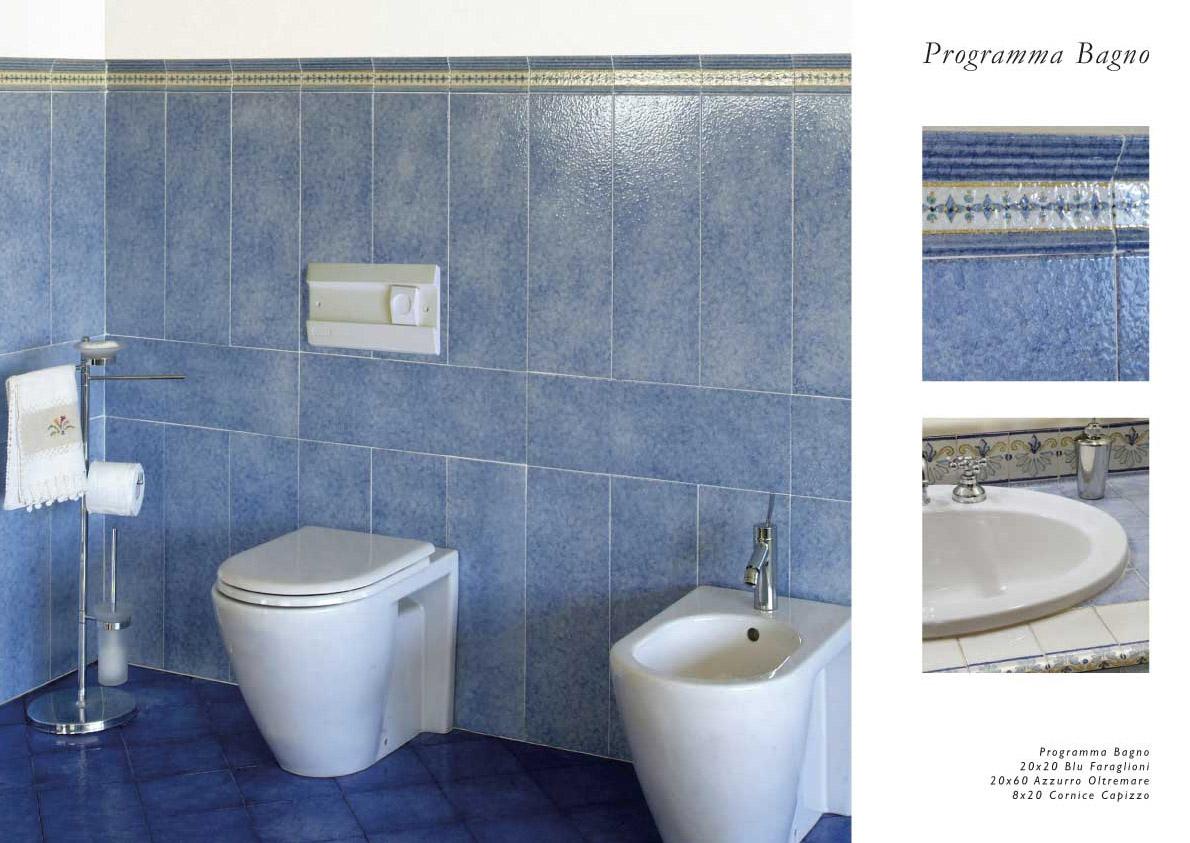 Piastrelle Bagno Azzurre: Bagni in resina blu: bagno moderno verde arredamento minimal. Forma ...